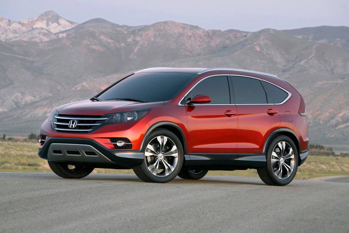 2012 Honda CR-V Breaks Cover