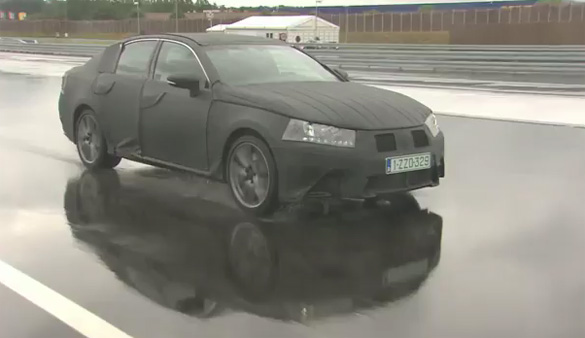 Video: 2012 Lexus GS Disguised During Testing