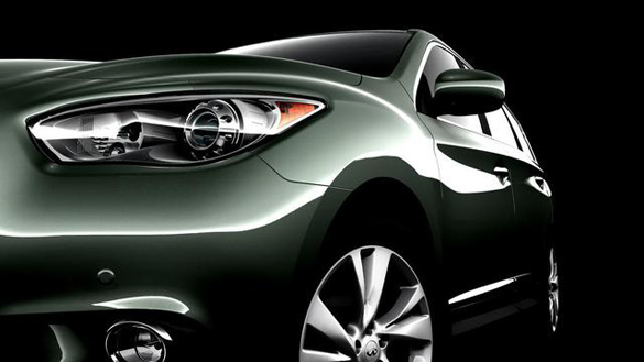 Infiniti Rolling Out Teaser Images of new JX Crossover Concept