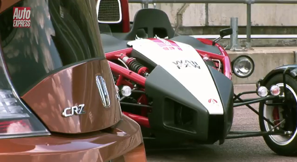 A Mugen-Tuned Ariel Atom Versus… A Tuned Honda CRZ?
