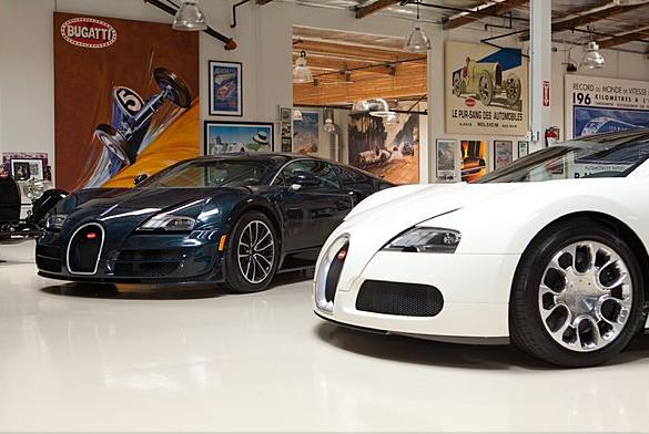 video bugatti veyron super sport in jay leno s garage. Black Bedroom Furniture Sets. Home Design Ideas