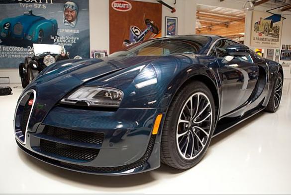 Bugatti Veyron Super Sport In Jay Leno's Garage