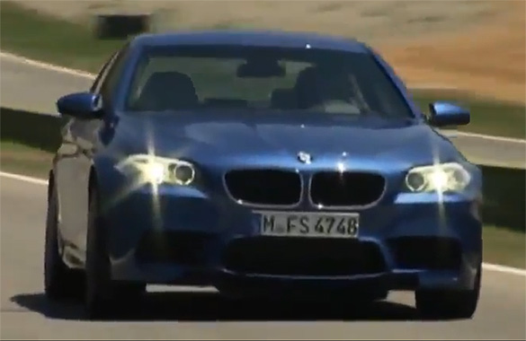 2012 BMW M5 Track, Mountains and Street Action Videos