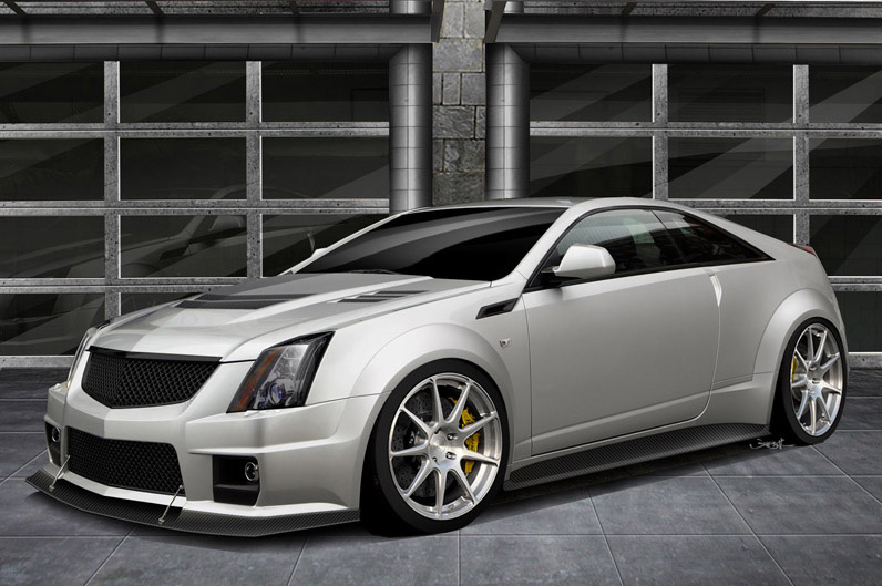 1000HP Hennessey Twin-Turbo Cadillac CTS-V Coupe V1000 Previewed