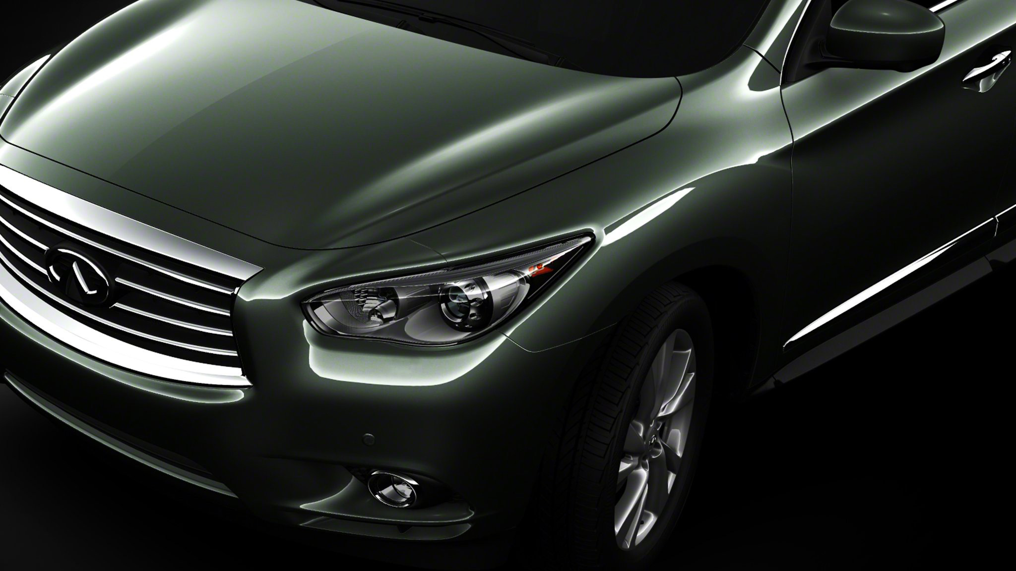 Infiniti Rolls Out 4th Teaser Image of new JX Crossover Concept