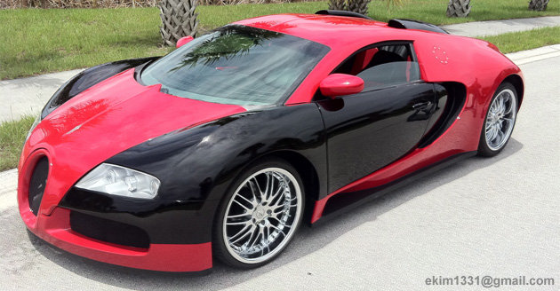 Can't Afford A Real Bugatti Veyron? How About A Copy?