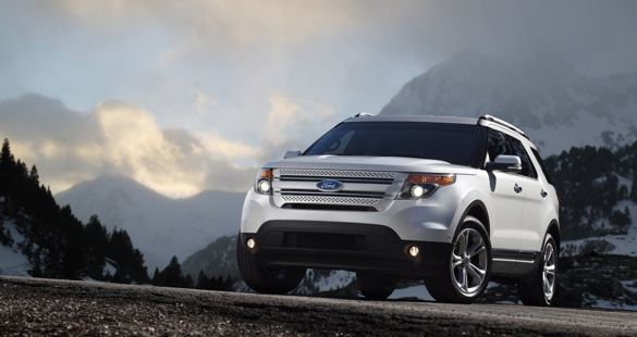 The 2012 Ford Explorer. Image: Ford Motor Company