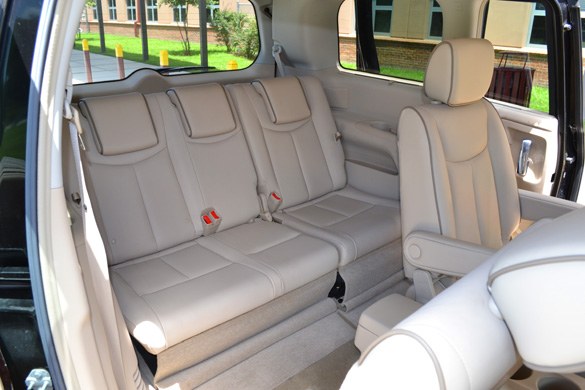 does the nissan murano have 3rd row seating autos post. Black Bedroom Furniture Sets. Home Design Ideas