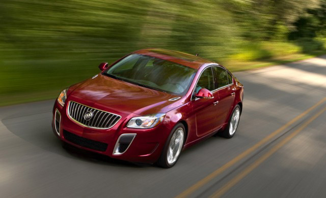 2012 Buick Regal GS Priced from $35,310