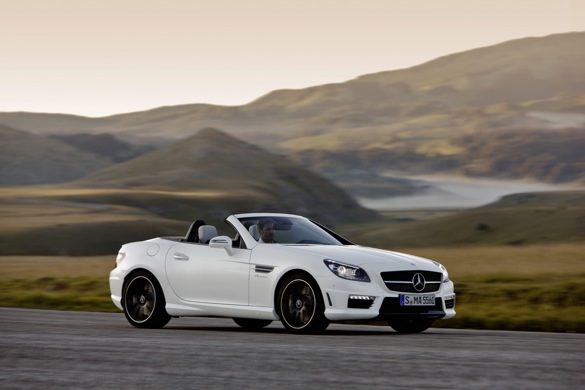 2012 Mercedes-Benz SLK55 AMG Gets More Power, Better Lines