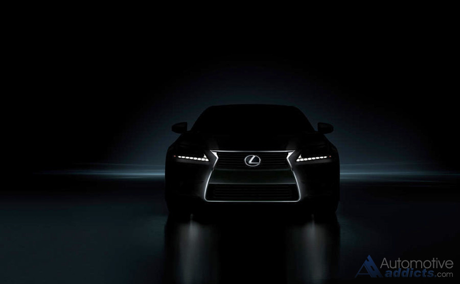 Lexus Teases New 2013 GS350 Before Concours Debut