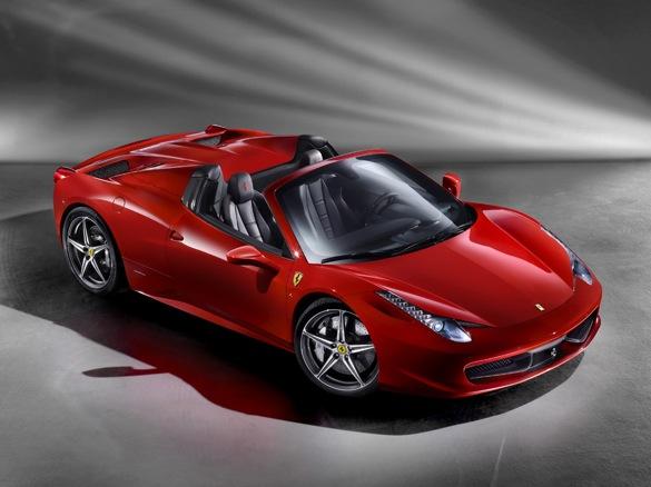 Ferrari Announces The 458 Spider