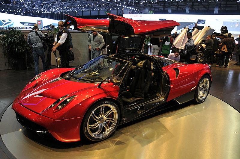 Good News, Supercar Fans: Airbags For Pagani's Huayra In Process