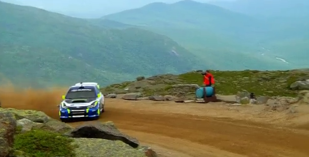 Subaru Rally Driver David Higgins Breaks Mt. Washington Record
