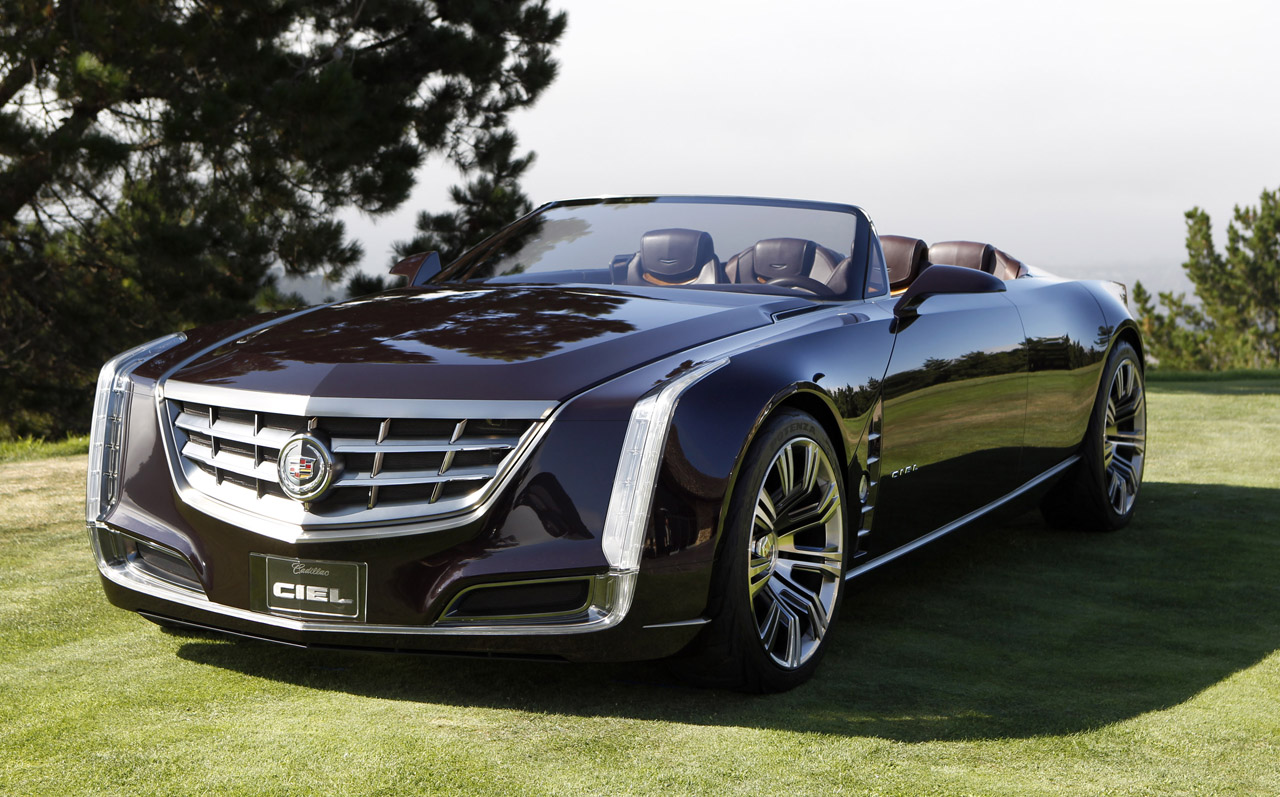 Cadillac Debuts Ciel (sky) Concept at Pebble Beach
