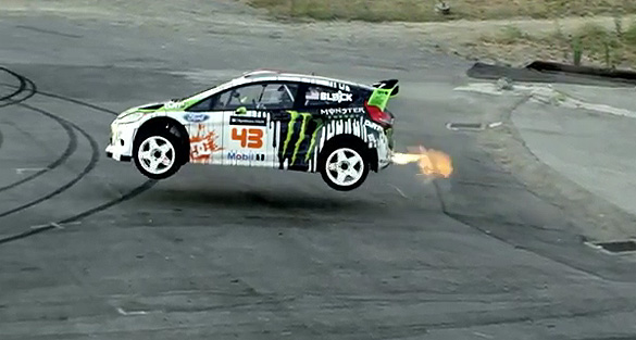 Video: Ken Block's Gymkhana FOUR; The Hollywood Megamercial