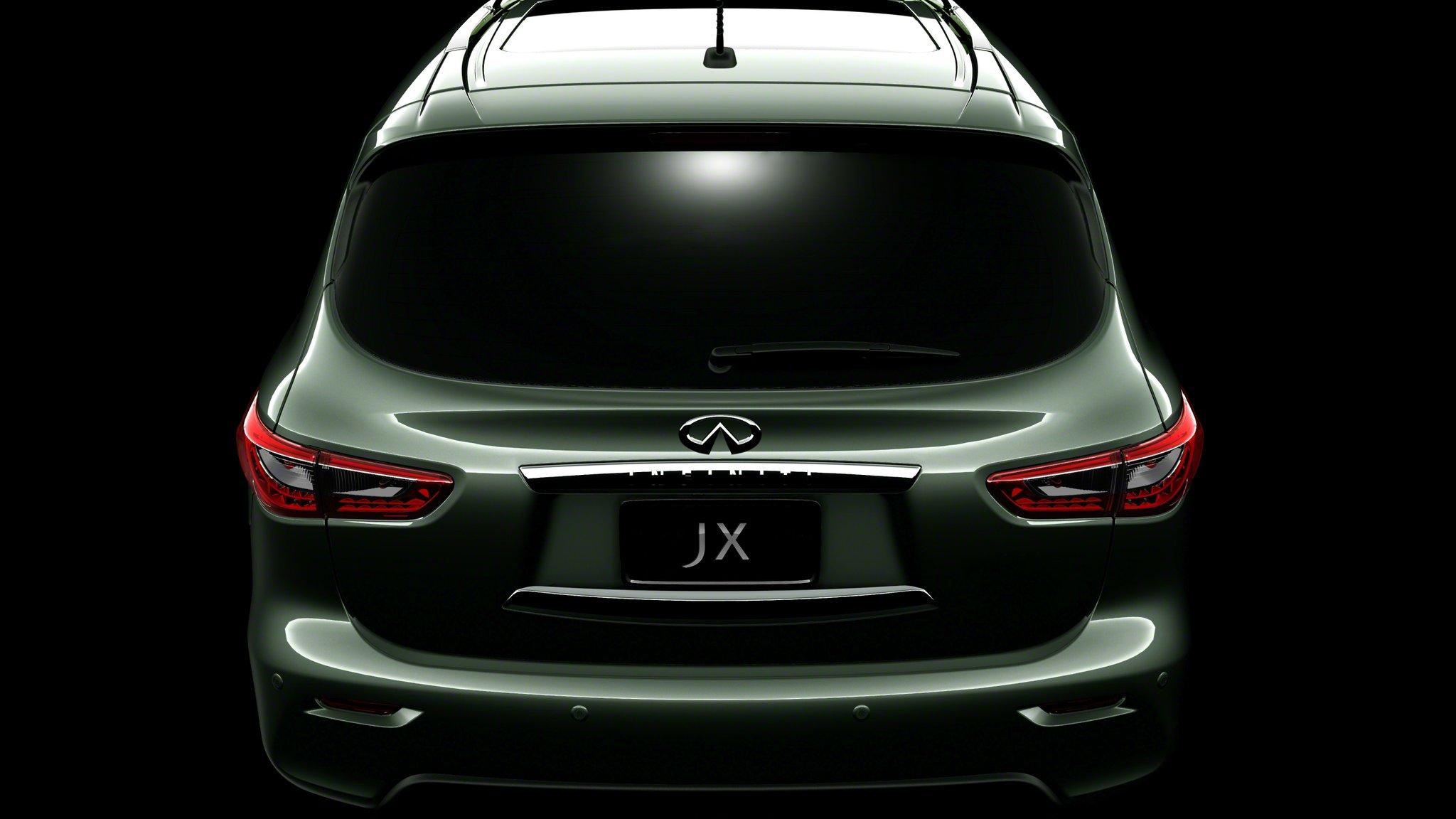 5th Infiniti JX Teaser Image Reveals Rear-End