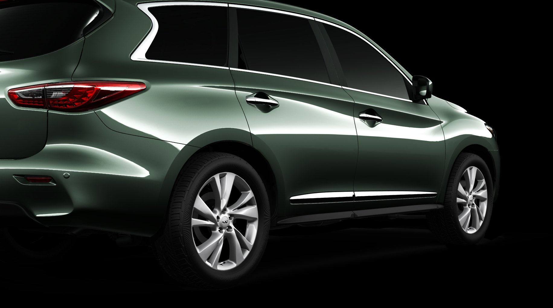 Infiniti Releases 7th & Final JX Teaser Image Hours Before Official Reveal