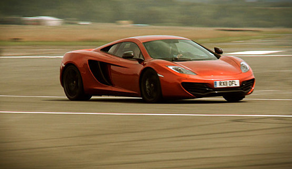 Video: Jay Leno Tours McLaren Factory and Drives MP4-12C
