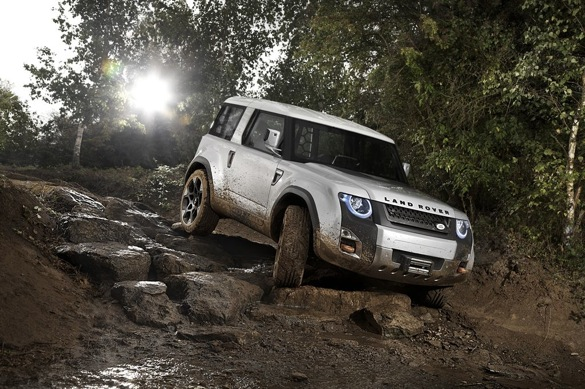 Land Rover DC100 Penned As Defender Replacement