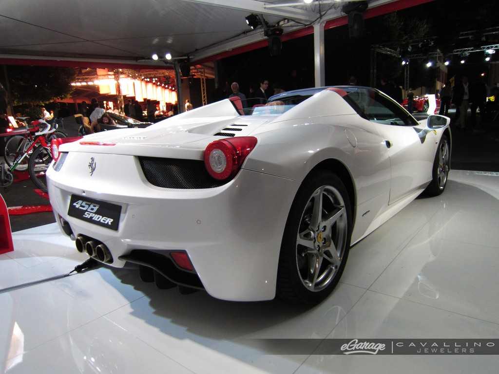 Ferrari 458 Spider World Premier Highlights W Video