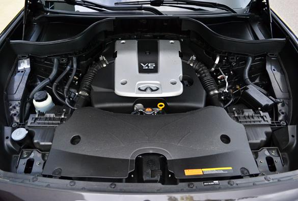 2008 infiniti fx35 horsepower