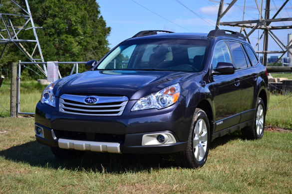 2011 Subaru Outback Front