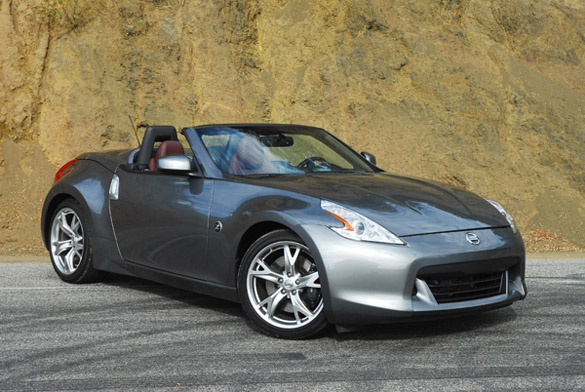 2011 Nissan 370Z Touring Sport Roadster Review & Test Drive