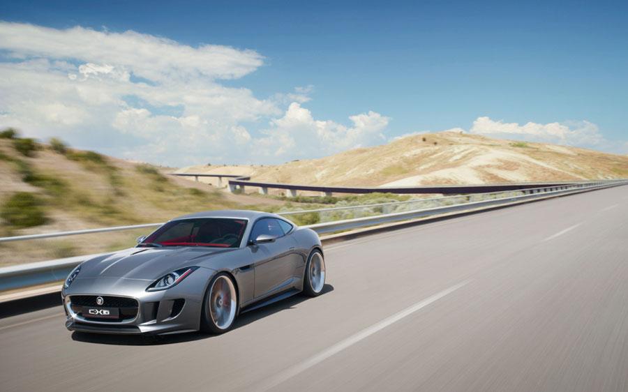 Official Jaguar C-X16 Concept Images & Details Revealed