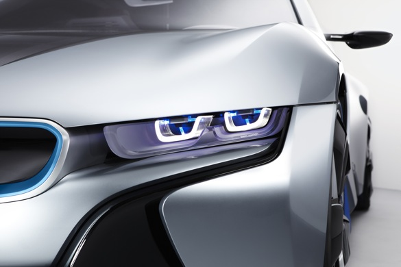 BMW Pioneers The Next Advance In Lighting: Laser Headlights