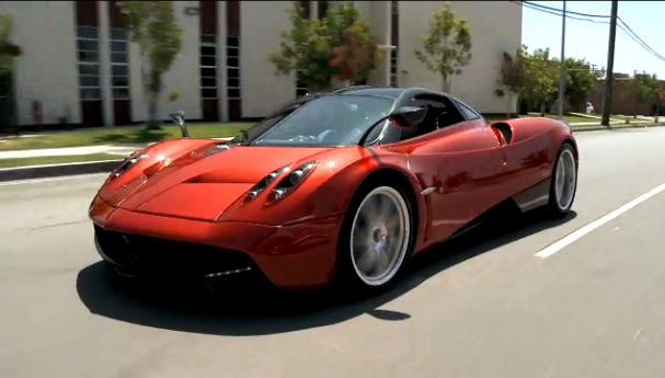 Jay Leno, Up Close And Personal With The Pagani Huayra