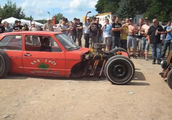 Stuff You Don't See Everyday: An Original VW GTI Rat Rod