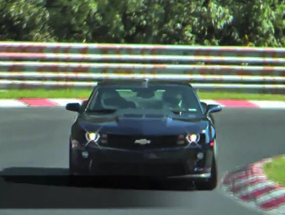 Video: 580hp 2012 Camaro ZL1 Testing On Nurburgring