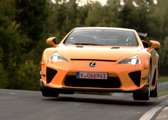 It's Official: The Lexus LFA Laps The Nürburgring In Under 7:15