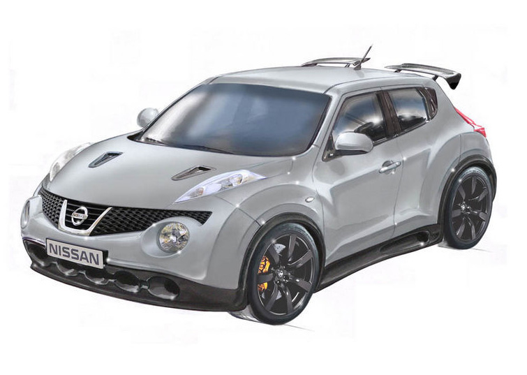 nissan working on 520 horsepower gt r powered juke on steroids. Black Bedroom Furniture Sets. Home Design Ideas