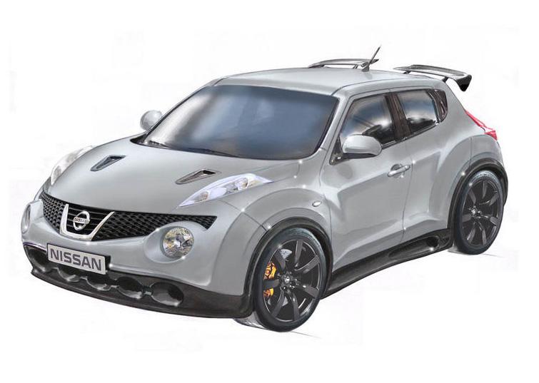 Nissan working on 520-horsepower GT-R Powered Juke on Steroids?