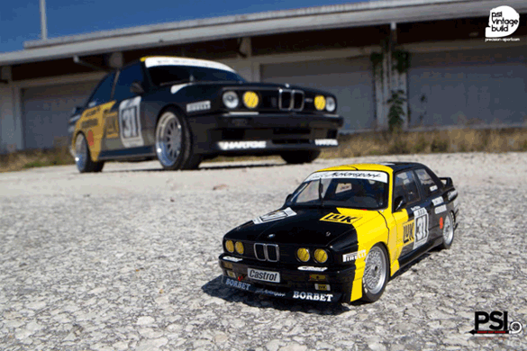Kurt Thiim E30 BMW M3 DTM Project Replicated from 1:18 Scale Model Car