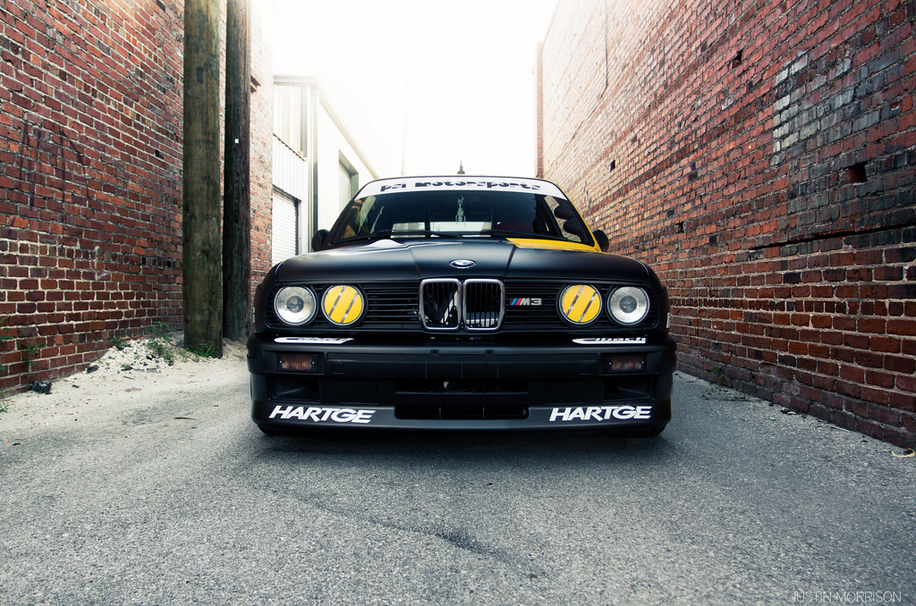 100 Hot Cars » Blog Archive » Kurt Thiim E30 BMW M3 DTM Project Replicated from 1:18 Scale Model Car