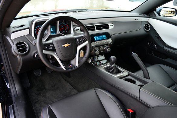 2012 Chevrolet Camaro Ss 45th Anniversary Edition Review