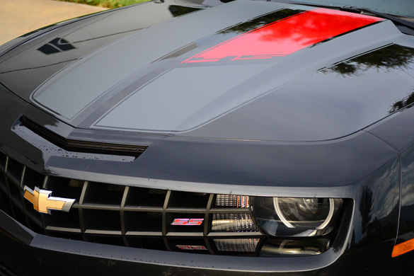 2012 Chevrolet Camaro Ss 45th Anniversary Edition Review Test Drive