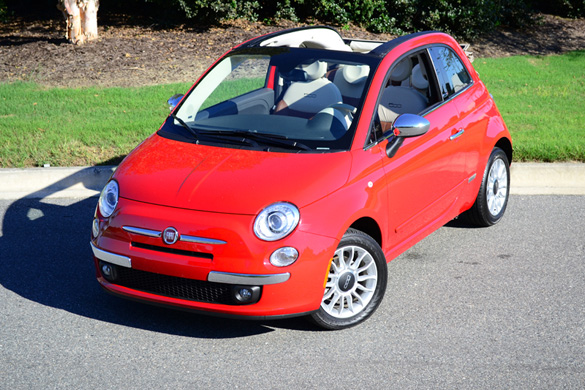 2012 FIAT 500C Convertible Lounge Review & Test Drive