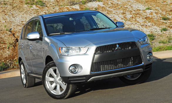 2012 Mitsubishi Outlander GT S-AWC Review & Test Drive