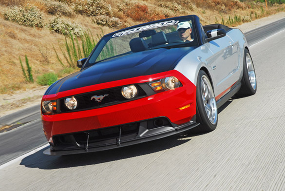 Detroit Muscle: 2012 Mustang 5.0 Supercharged Convertible Review