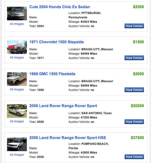 AutomotiveAddicts.com Announces Vehicle Classifieds