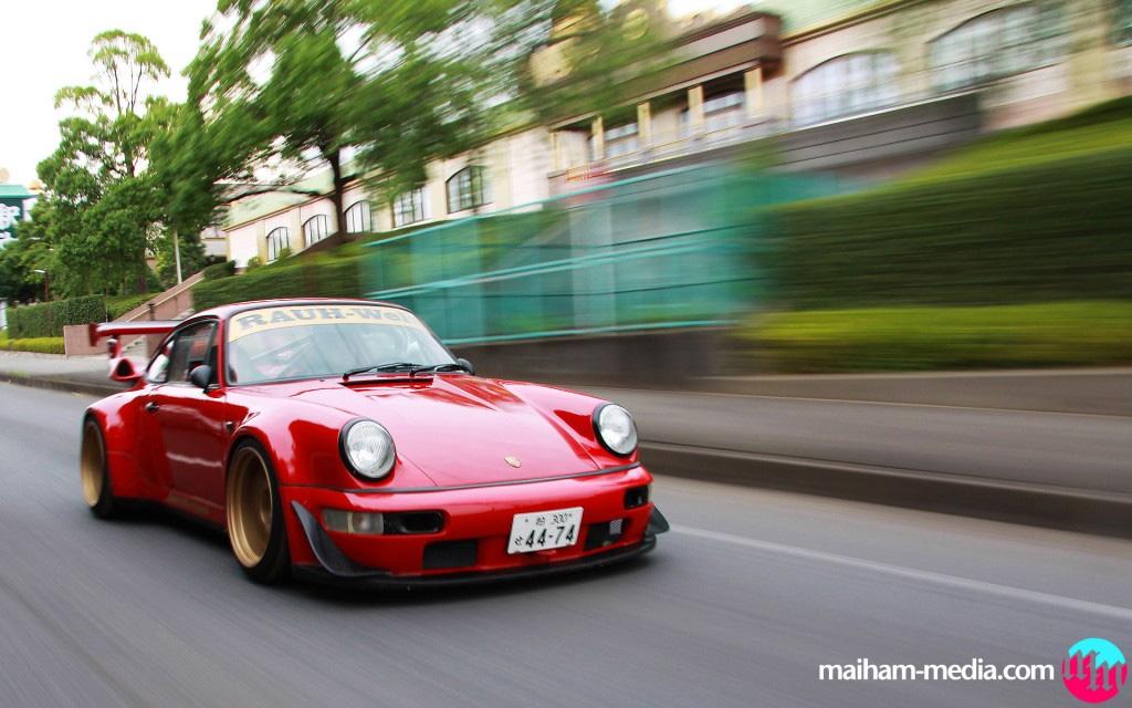Video: The Pusherman of Modified RWB Porsches