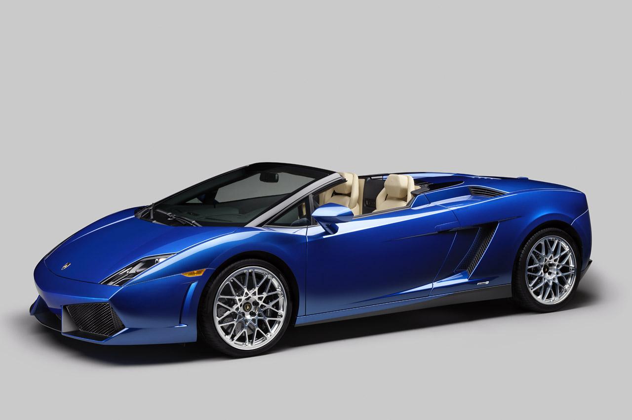 2011 LA Auto Show: 2012 Lamborghini Gallardo LP550-2 Spyder Debuts