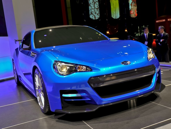 Here's What The Subaru BRZ Will (Probably) Look Like