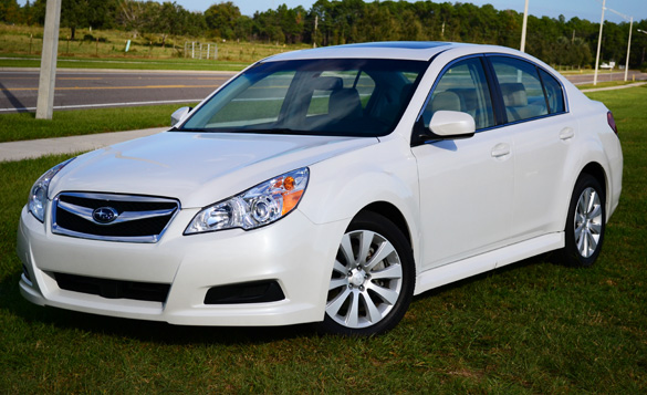 2011 Subaru Legacy 3.6R Limited Review & Test Drive