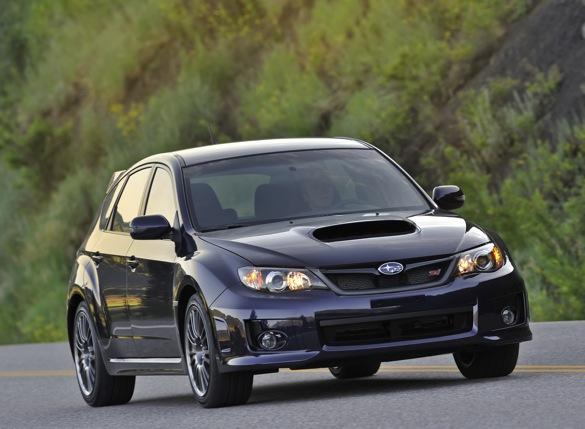 2011 subaru impreza wrx crash test rating