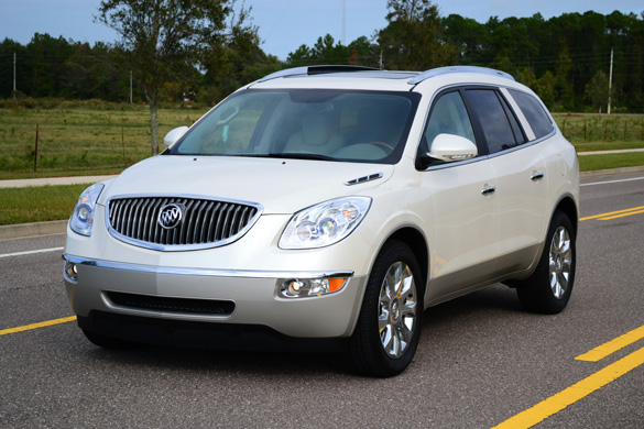 2012 Buick Enclave Review & Test Drive